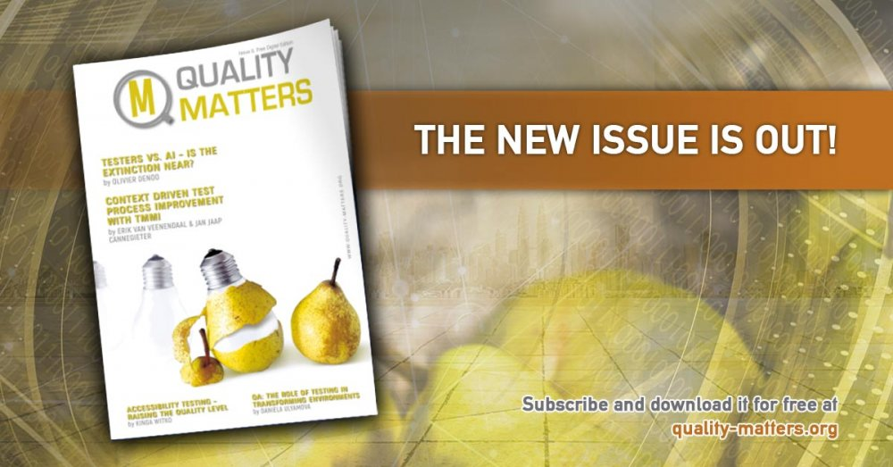 Quality Matters Issue 9 is now out!