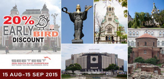 SEETEST 2015 - Early Bird started Register now!