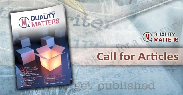 Call for articles for Quality Matters is open!